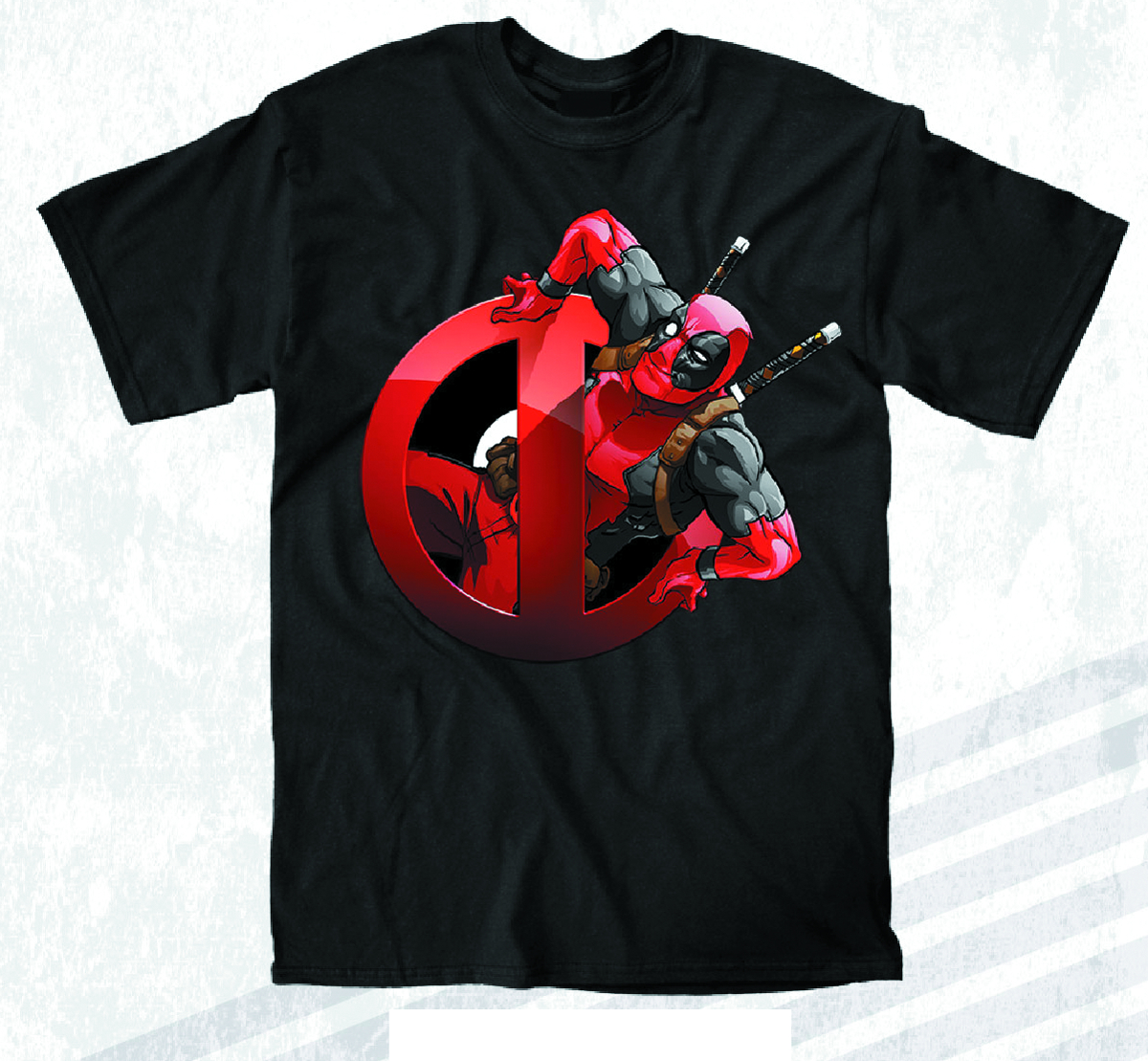 DEADPOOL HELLO LADIES PX BLK T/S LG