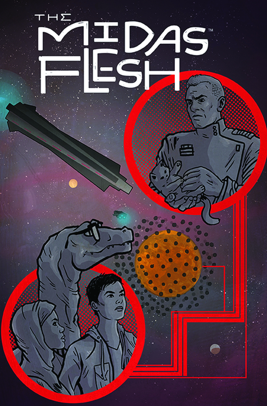 MIDAS FLESH #4 (OF 8)