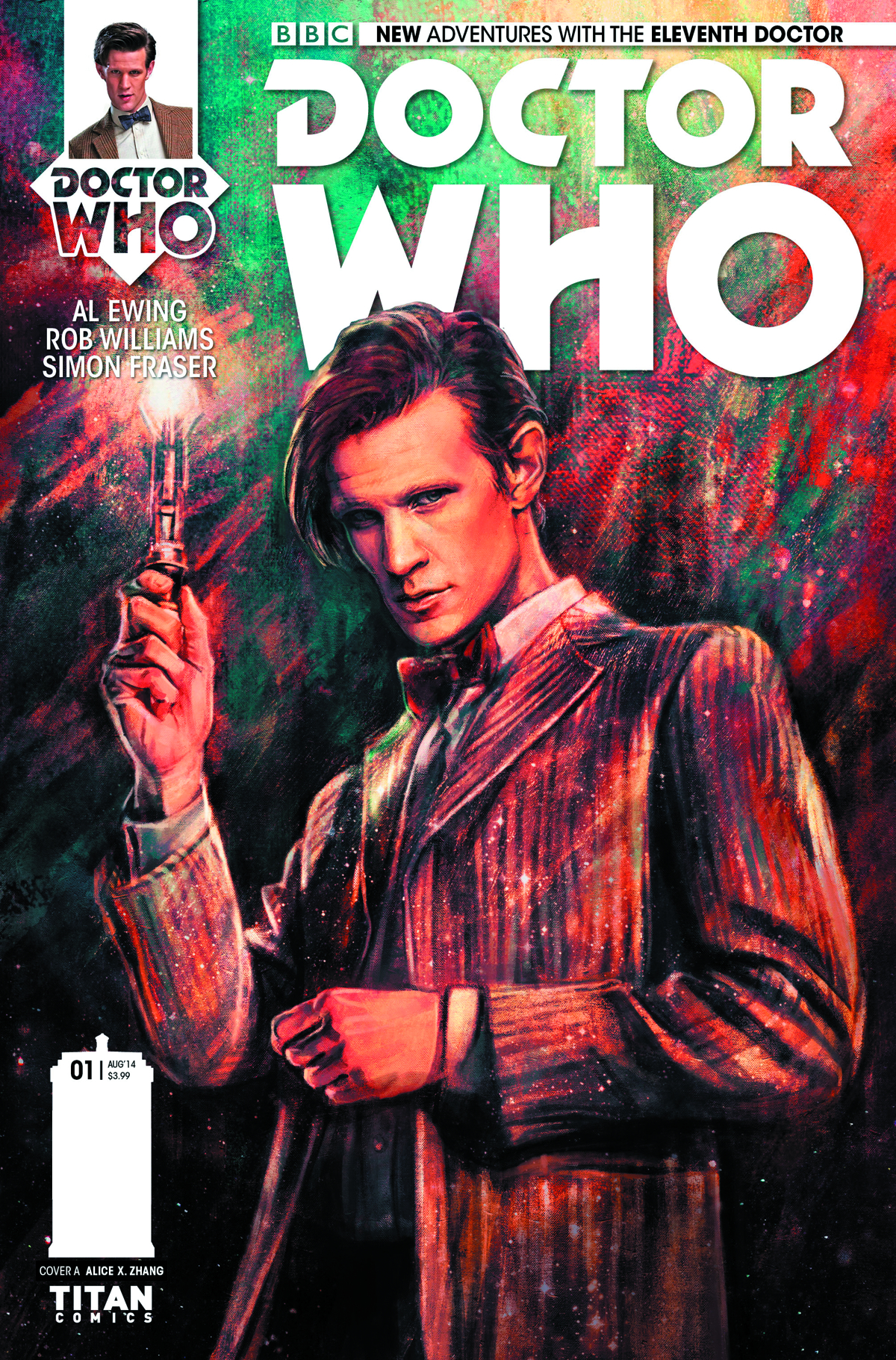 DOCTOR WHO 11TH #1 REG ZHANG