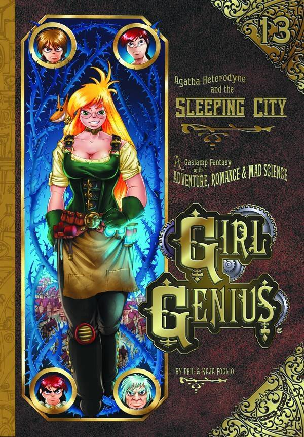 GIRL GENIUS TP VOL 13 SLEEPING CITY