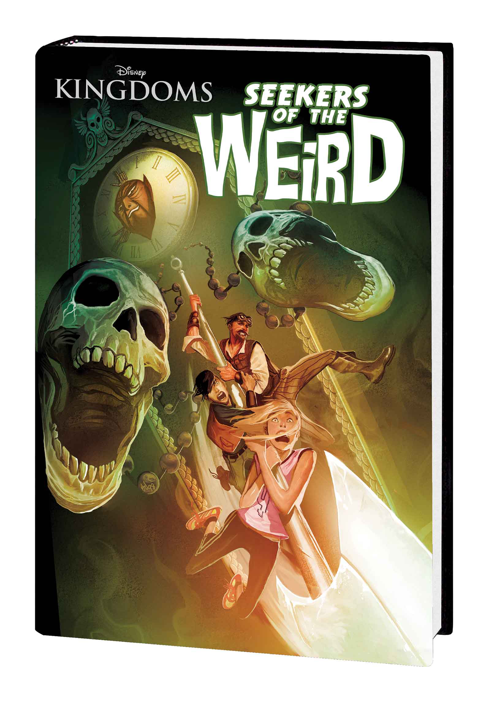 DISNEY KINGDOMS SEEKERS OF WEIRD HC