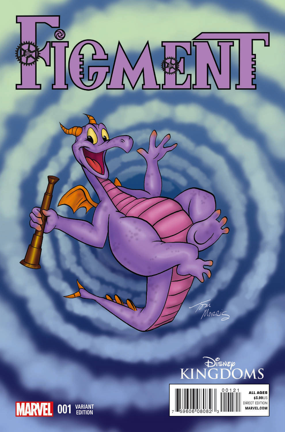 FIGMENT #1 (OF 5) TOM MORRIS IMAGINEER VAR