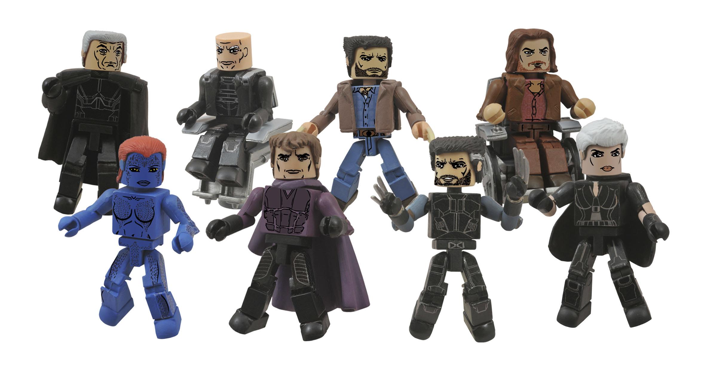 Marvel Minimates Series 58 X-Men Future Past Movie Future Wolverine /& Storm