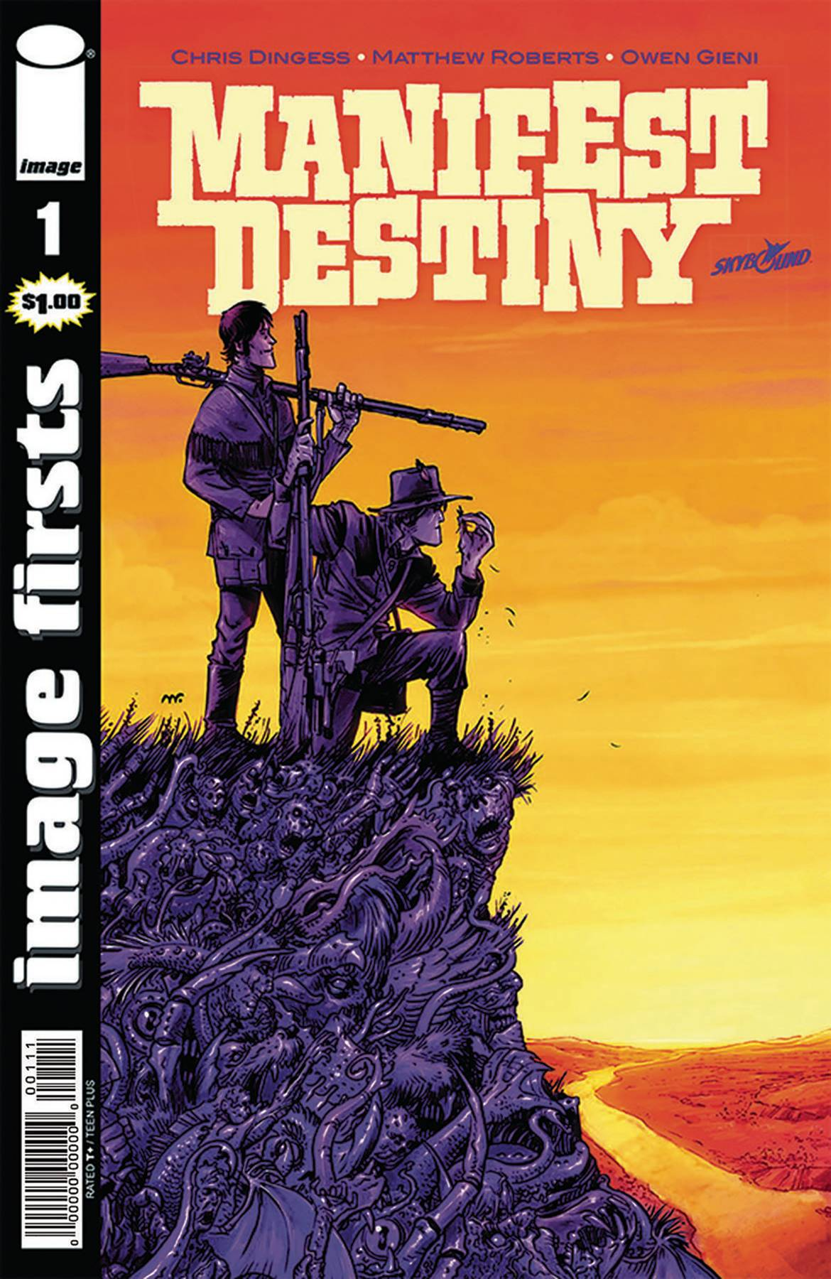 IMAGE FIRSTS MANIFEST DESTINY #1 (O/A)