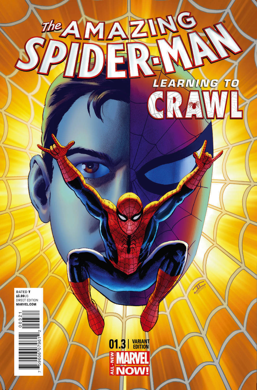 AMAZING SPIDER-MAN #1.3 CASSADAY VAR