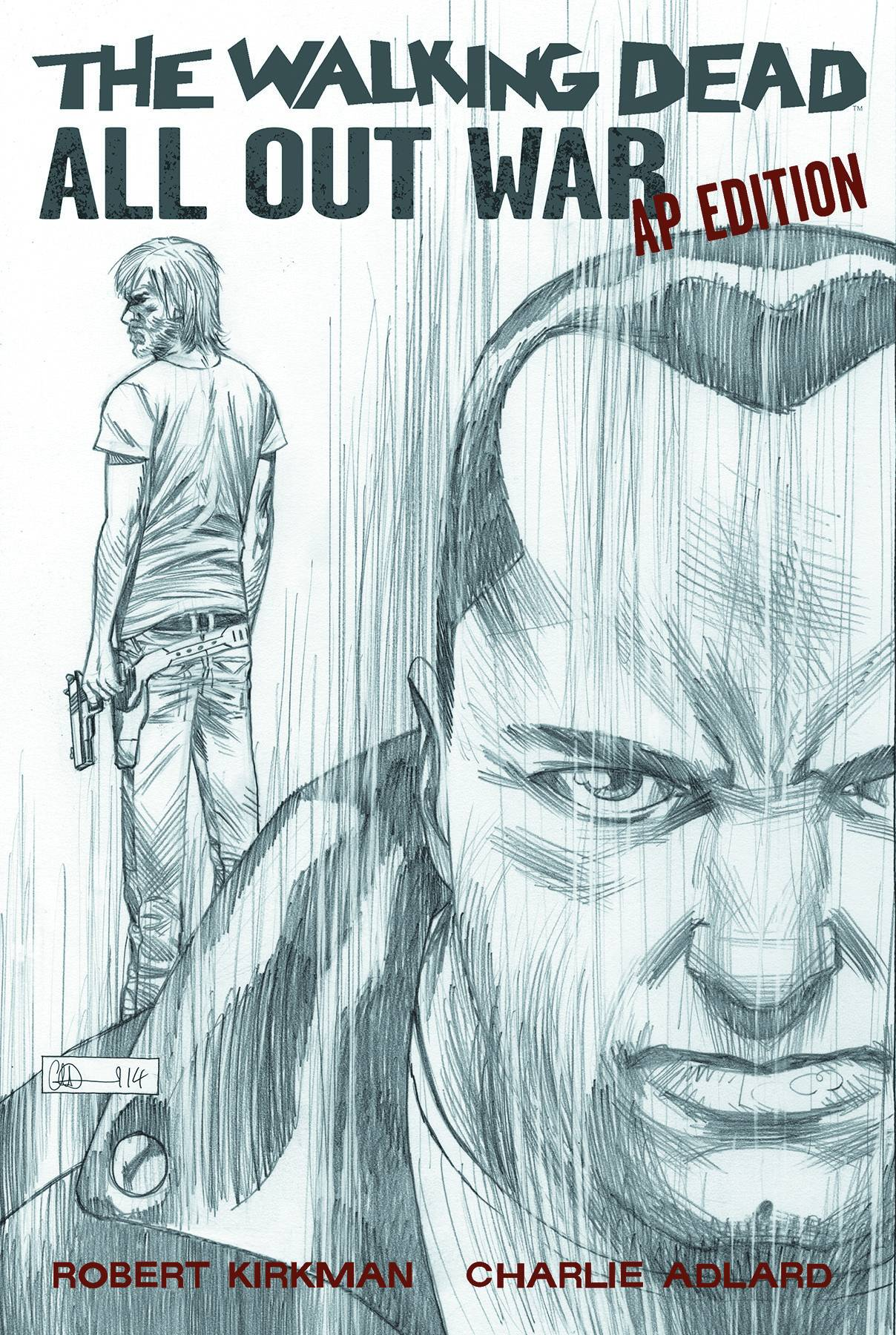 WALKING DEAD ALL OUT WAR AP EDITION HC (MR)
