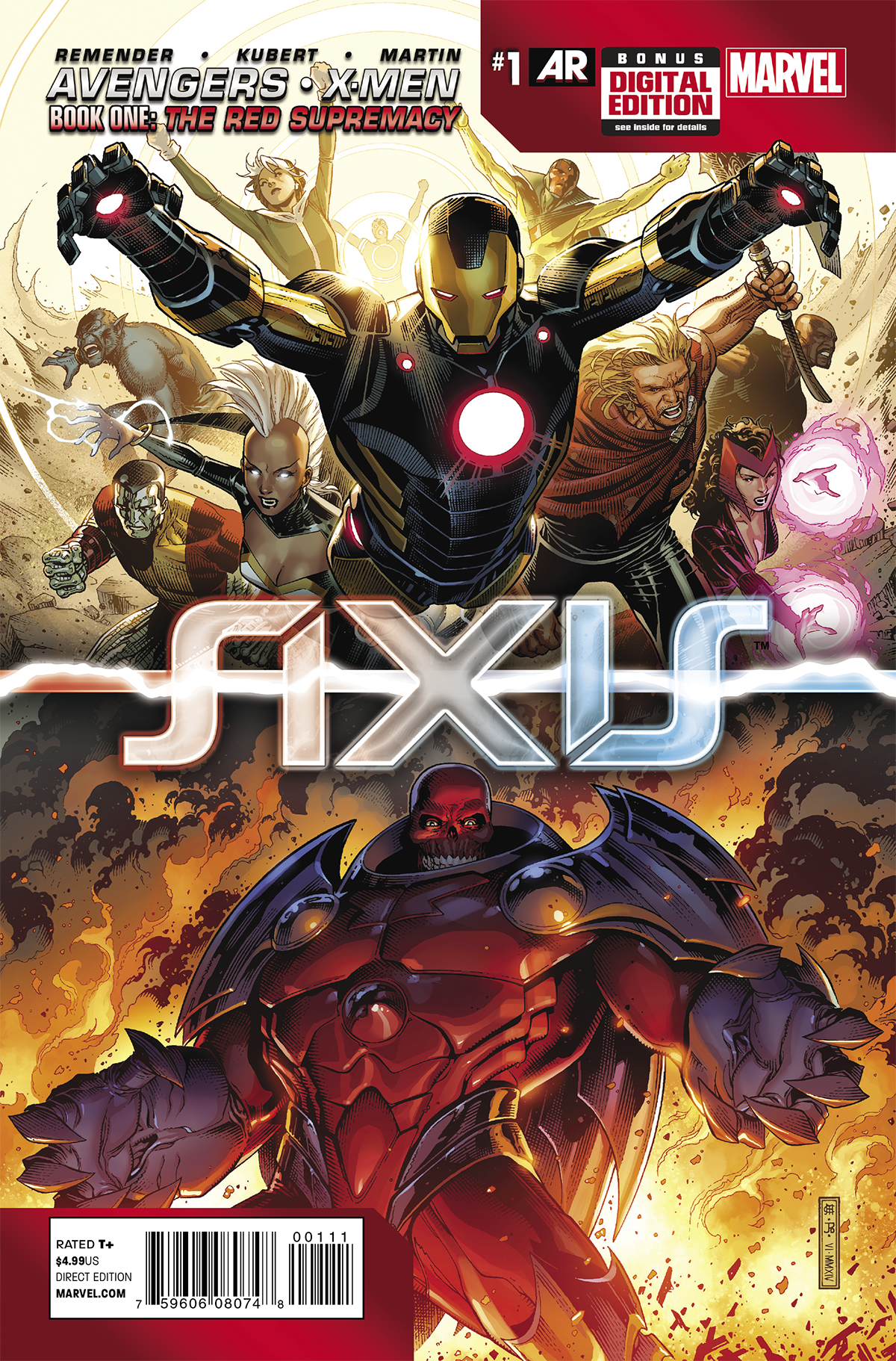 AVENGERS AND X-MEN AXIS #1 (OF 9) (RES)