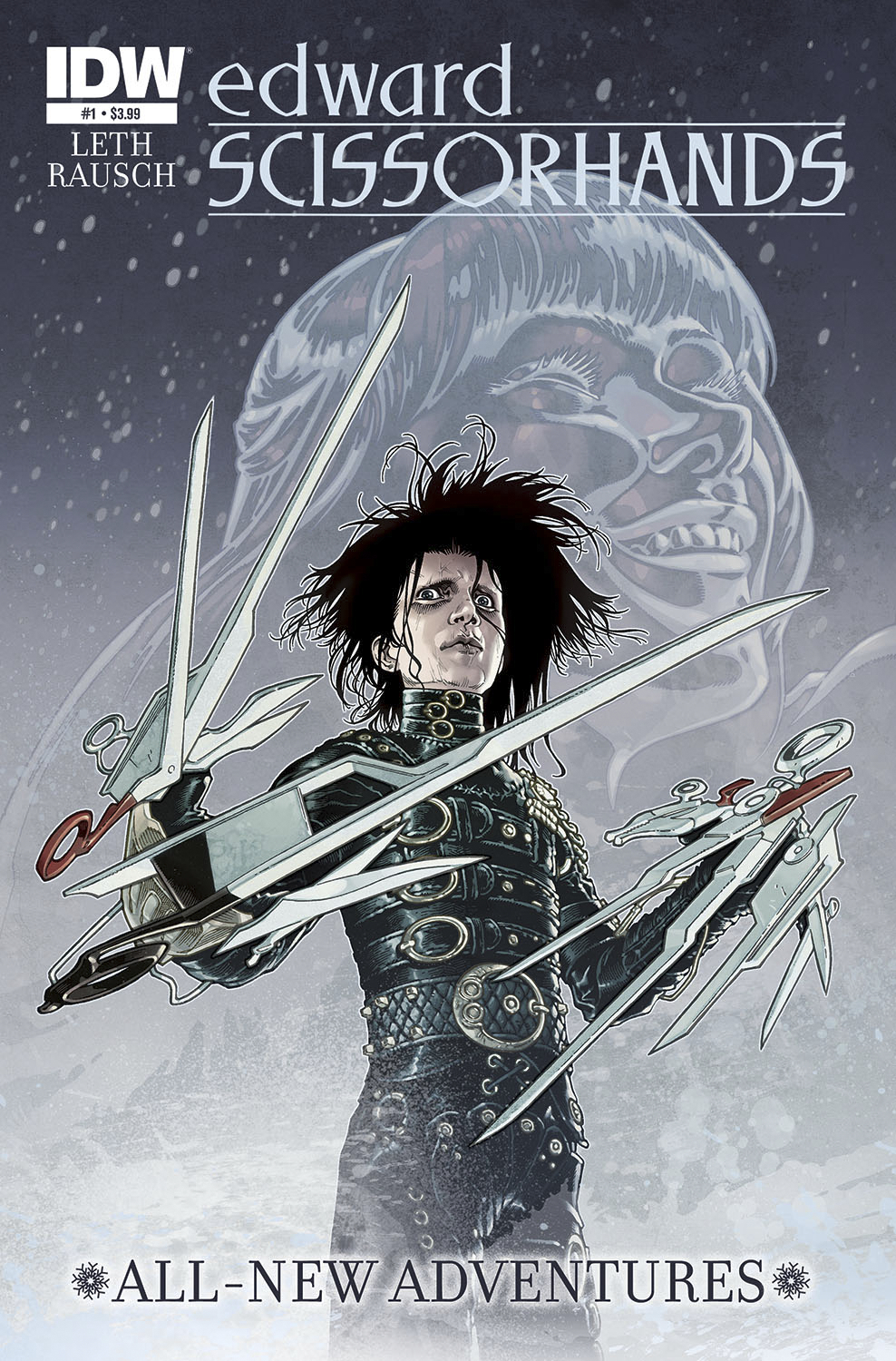 (USE SEP148278) EDWARD SCISSORHANDS #1 (OF 5)