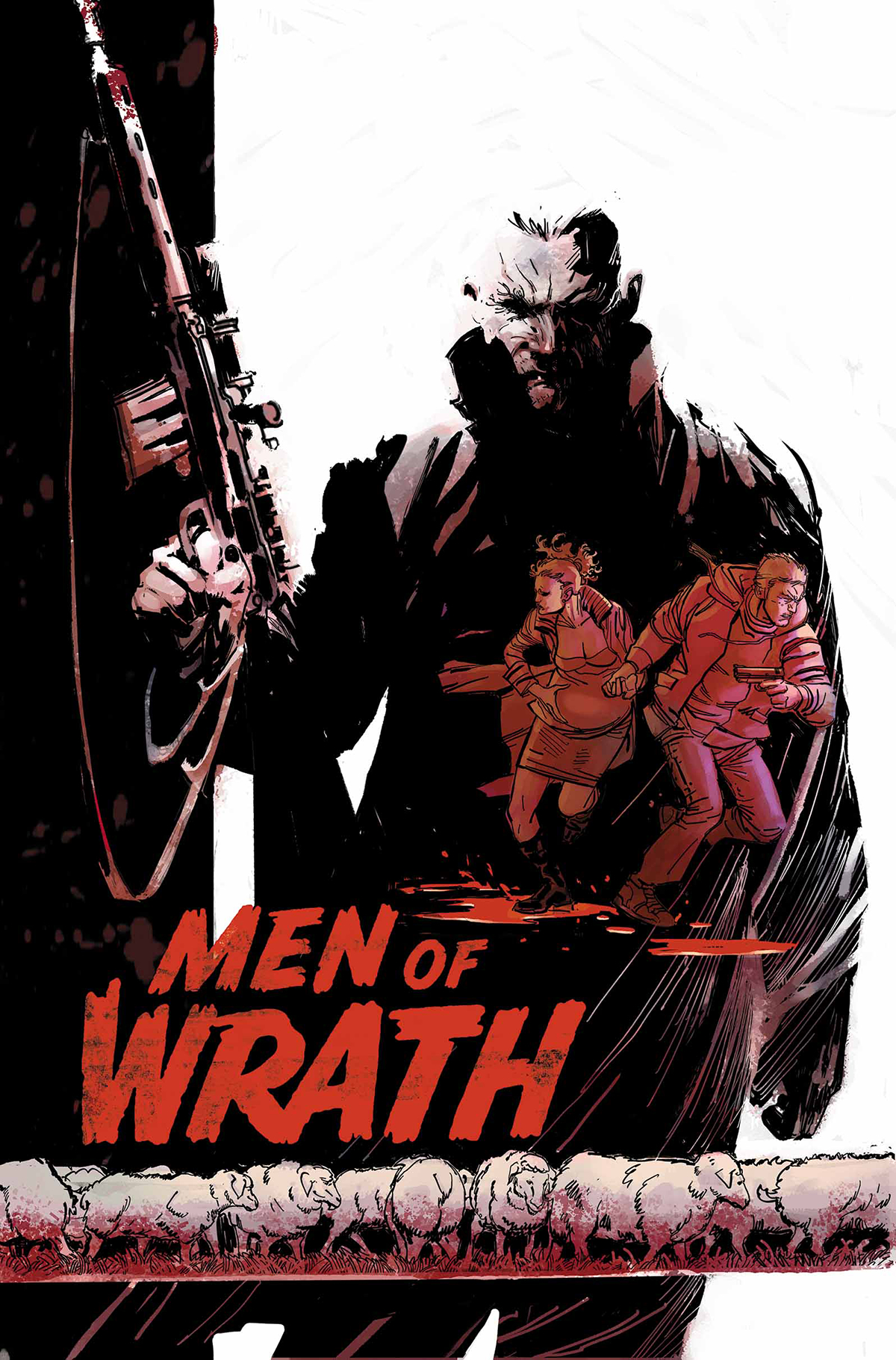 MEN OF WRATH BY AARON AND GARNEY #1 (OF 5) (MR)