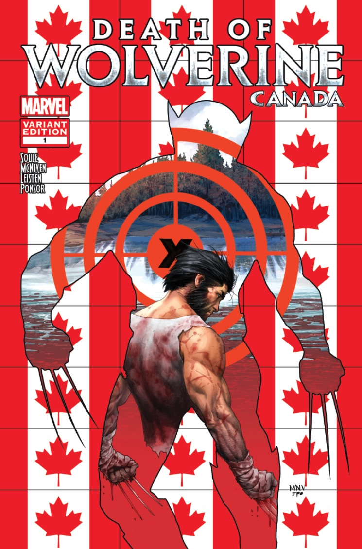 DEATH OF WOLVERINE #1 (OF 4) MCNIVEN CANADA VAR