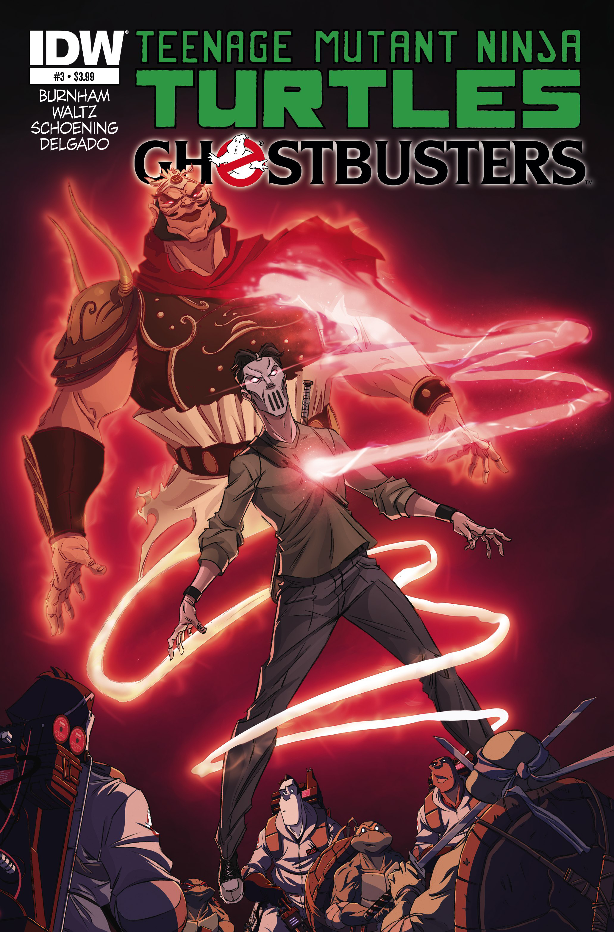 TMNT GHOSTBUSTERS #3 (OF 4)