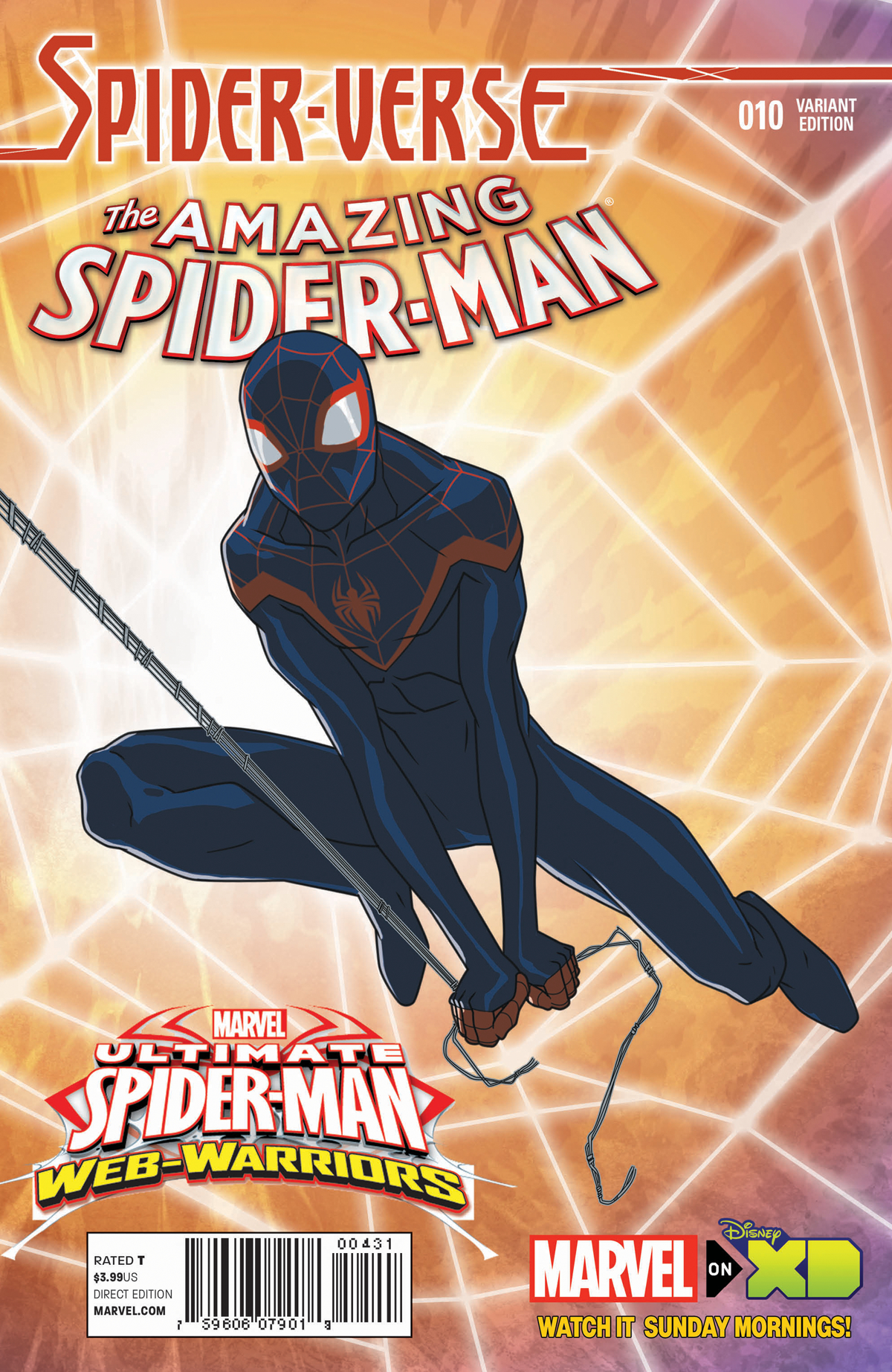 AMAZING SPIDER-MAN #10 MARVEL ANIMATION SPIDER-VERSE VAR SV