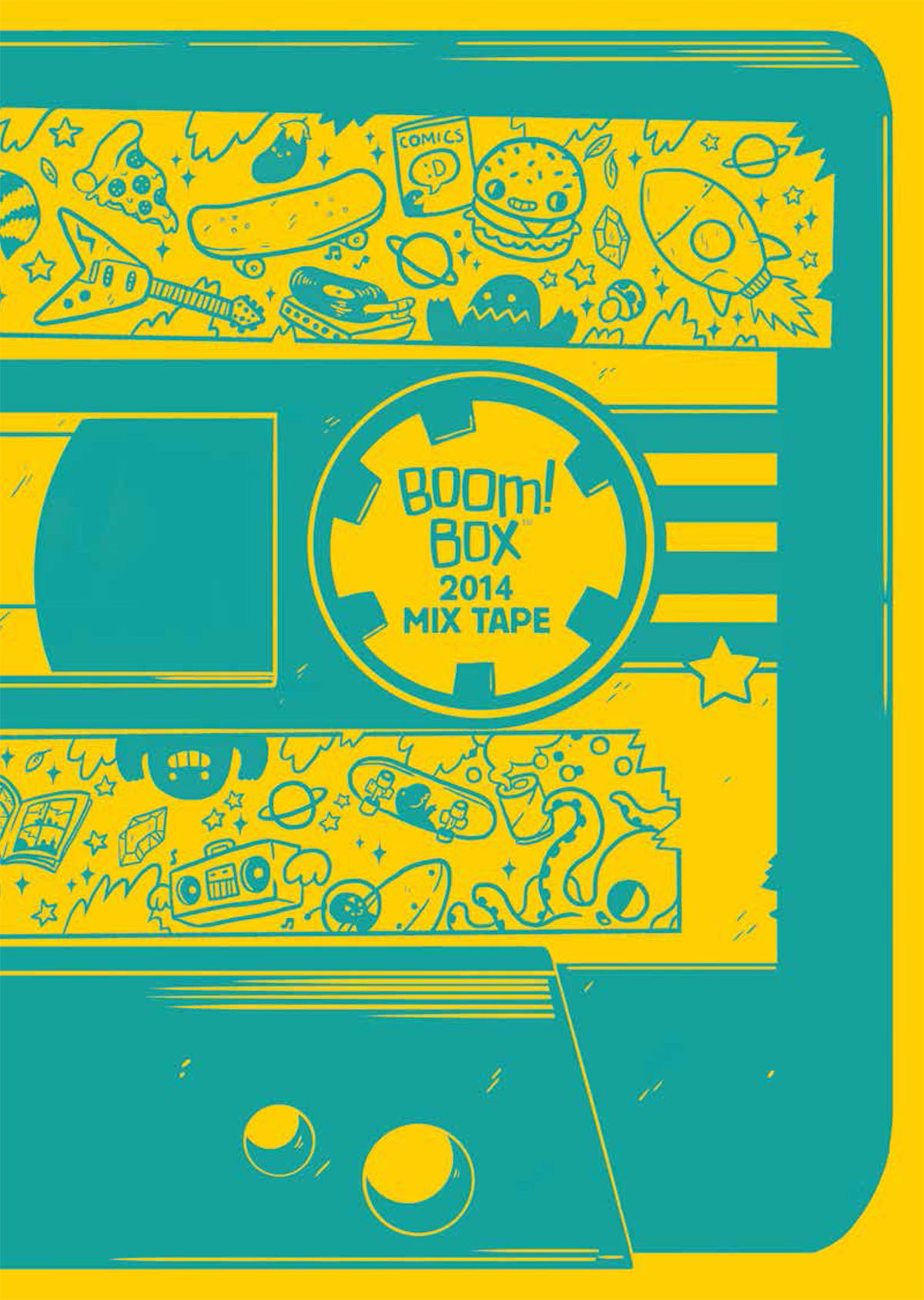 BOOM BOX 2014 MIX TAPE #1