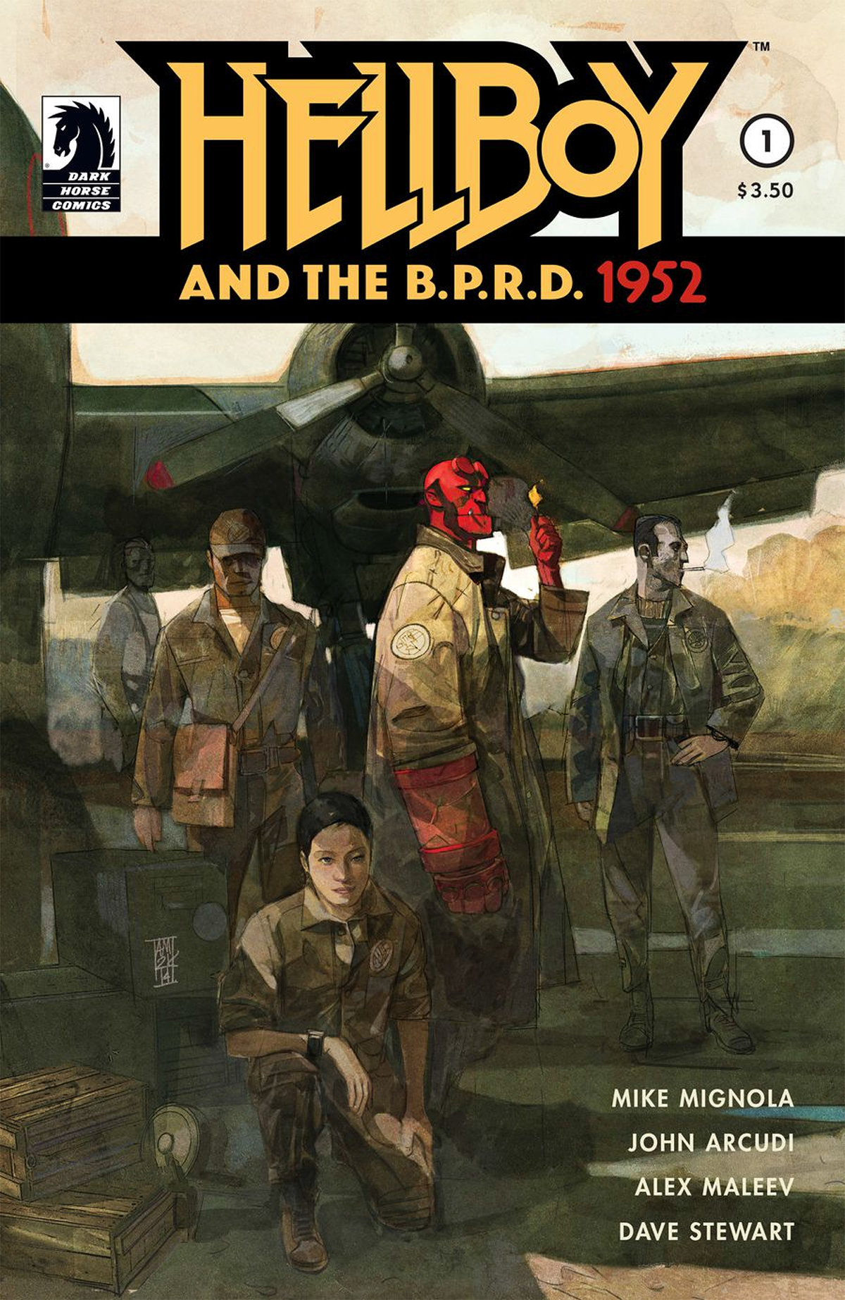 HELLBOY AND THE BPRD #1 (OF 5)