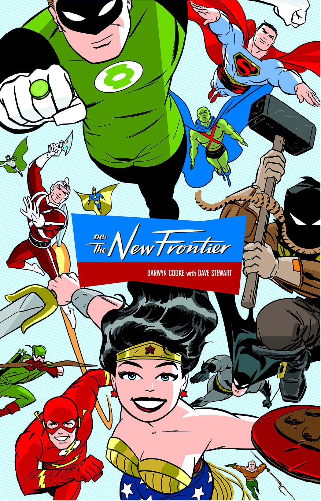 DC THE NEW FRONTIER DELUXE ED HC