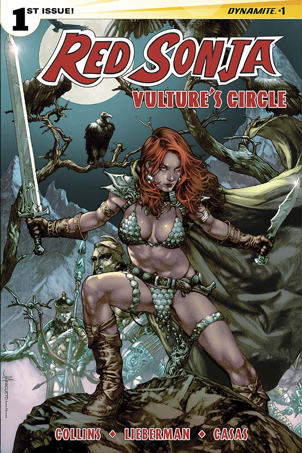 RED SONJA VULTURES CIRCLE #1 CVR A ANACLETO