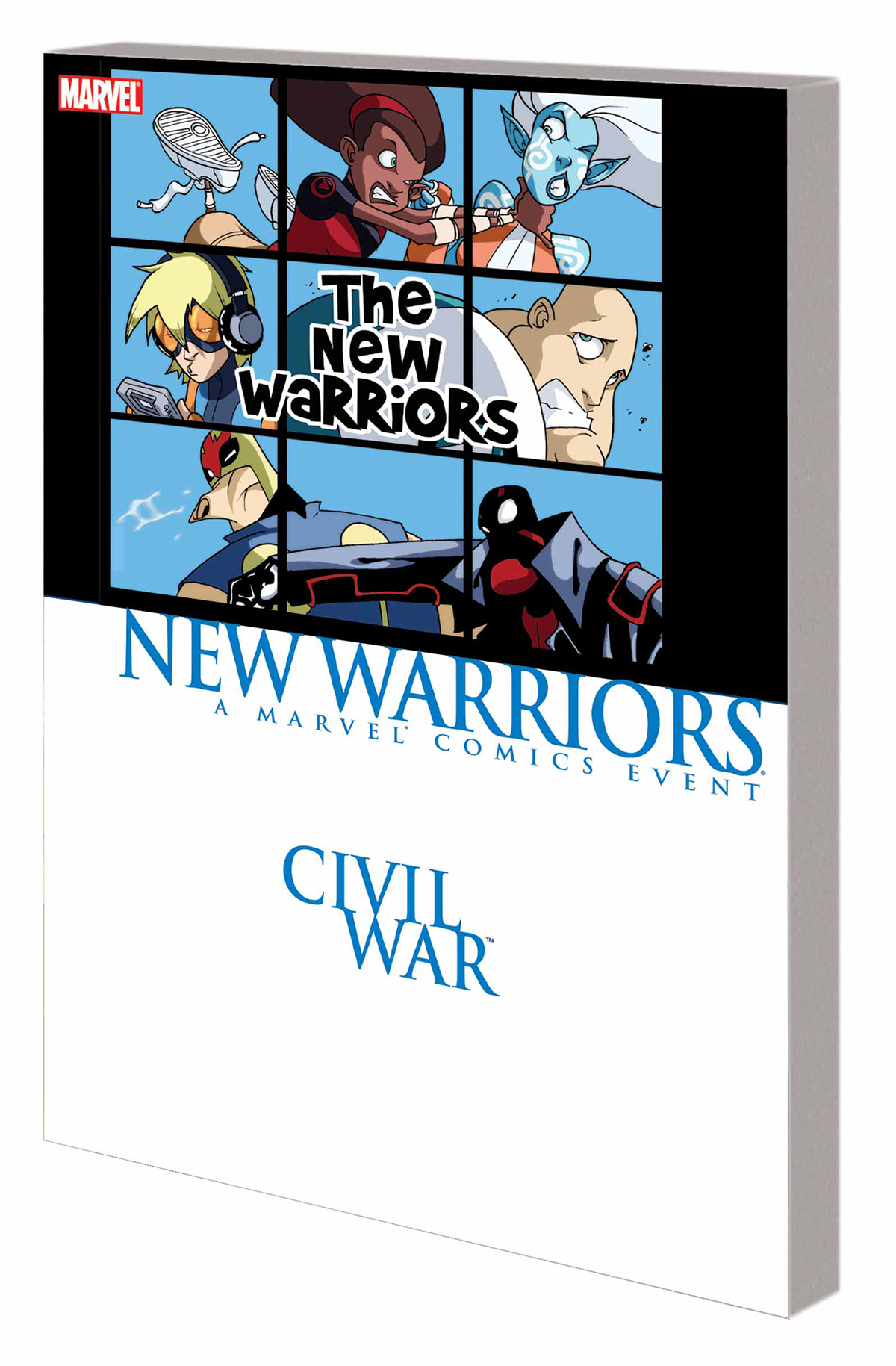 CIVIL WAR PRELUDE TP NEW WARRIORS