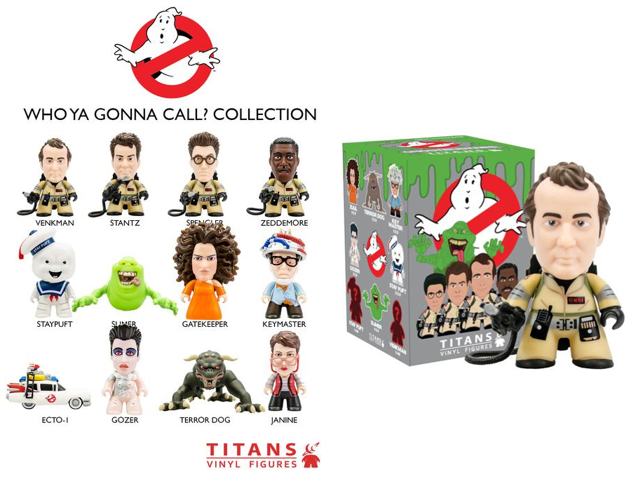 GHOSTBUSTERS TITANS MINI FIG 20PC BMB DS