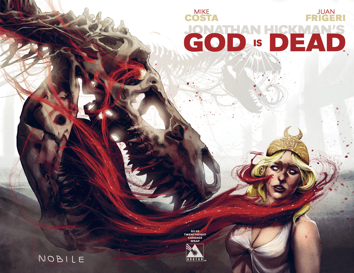GOD IS DEAD #28 CARNAGE WRAP CVR (MR)