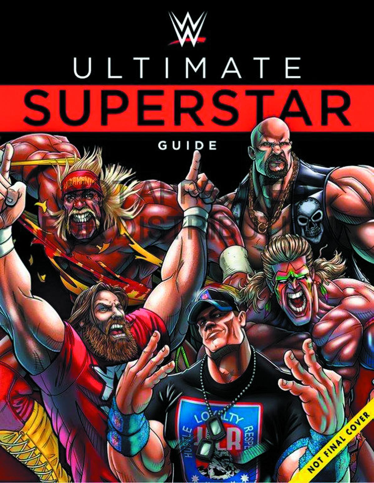 JAN151841 - WWE ULTIMATE SUPERSTAR GUIDE HC - Previews World