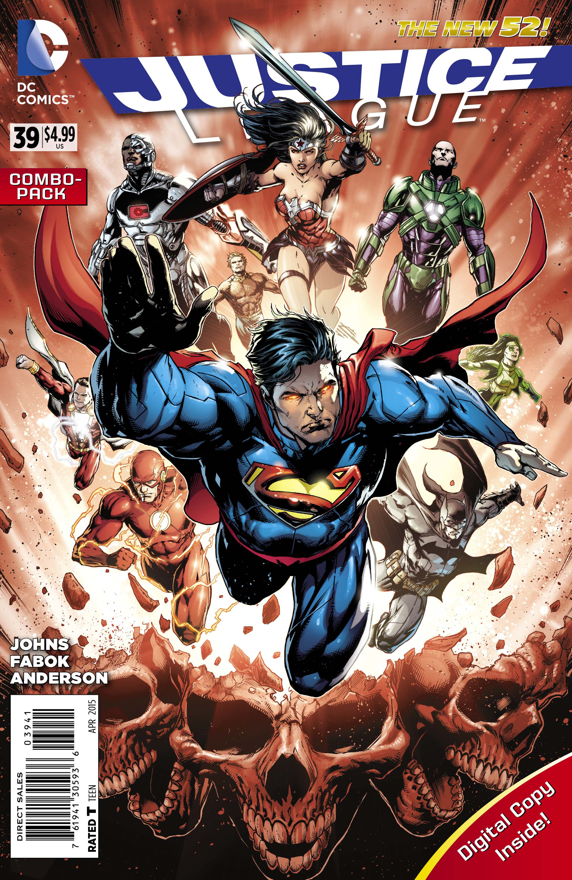 JUSTICE LEAGUE #39 COMBO PACK