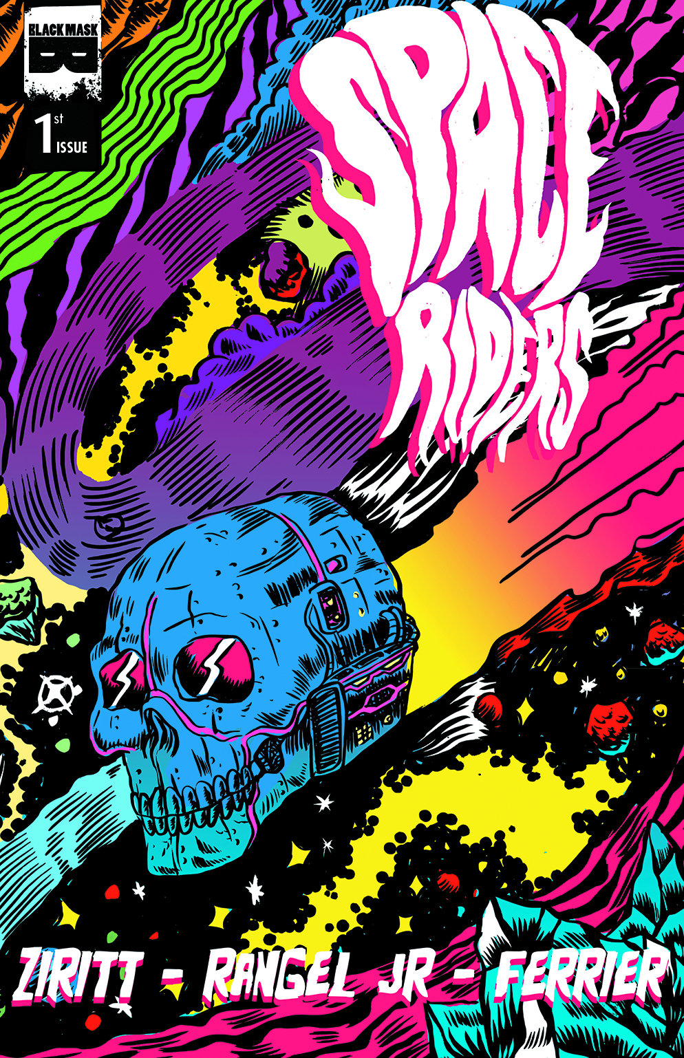 (USE JUN158301) SPACE RIDERS #1 (OF 4) (MR)