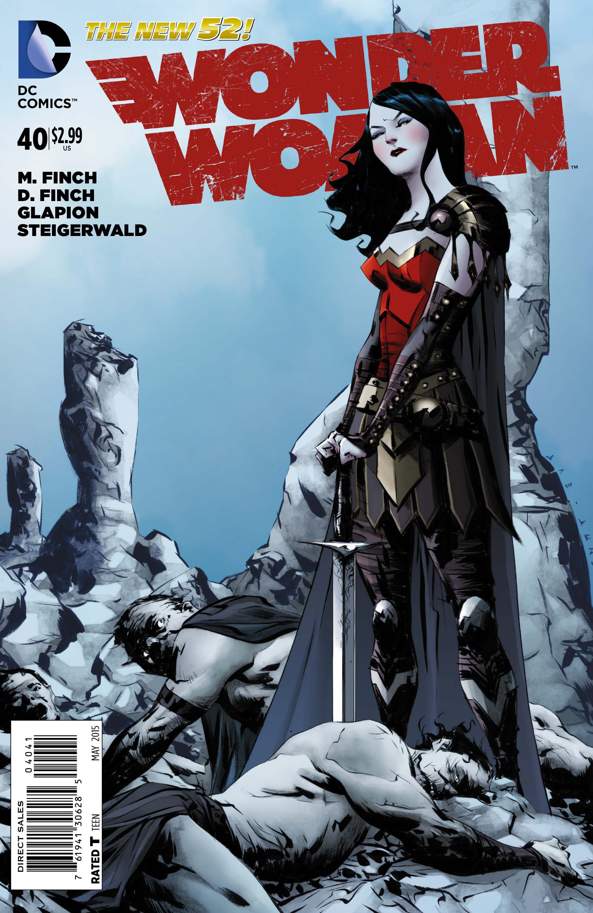 WONDER WOMAN #40 VAR ED