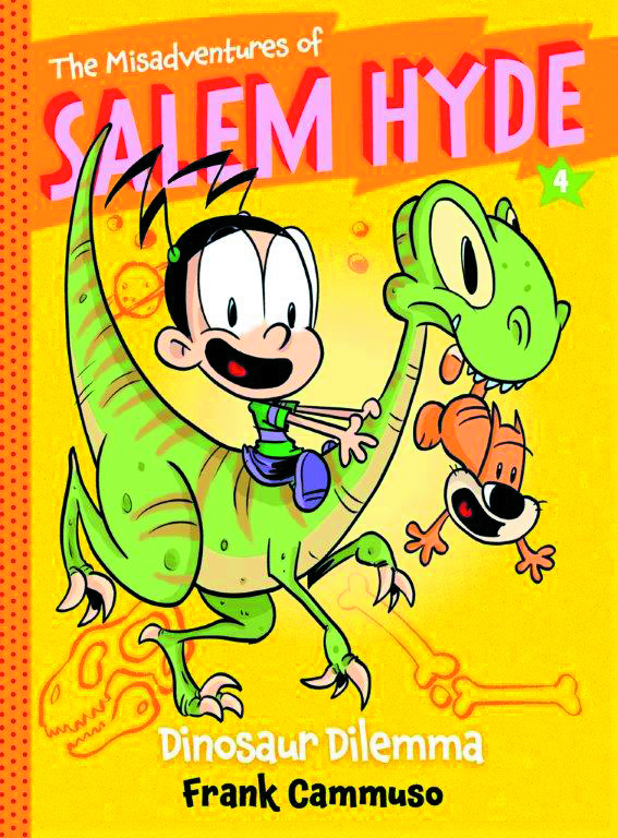 MISADVENTURES OF SALEM HYDE SC VOL 04 DINOSAUR DILEMMA