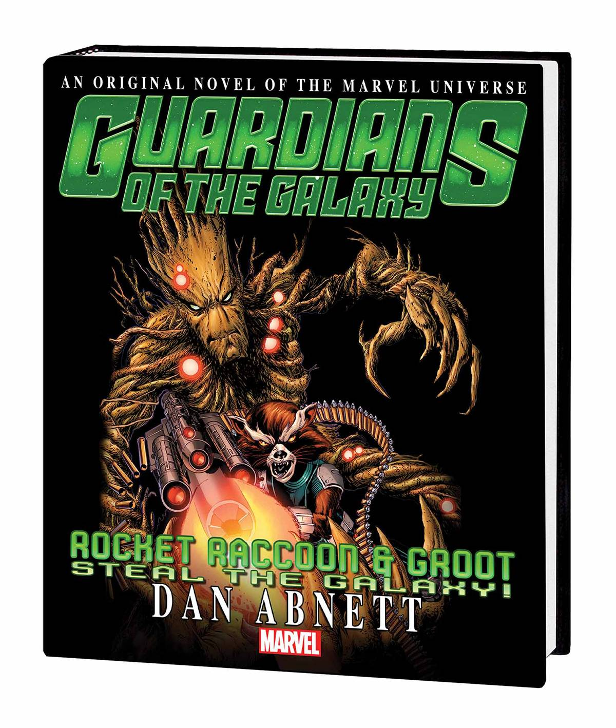 GOTG RR AND GROOT STEAL GALAXY PROSE NOVEL MARKET TP (RES)