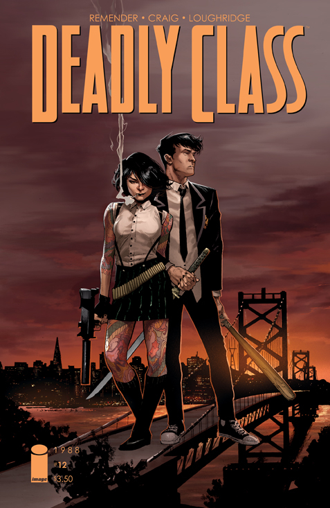 DEADLY CLASS #12 CVR B OPENA (MR)
