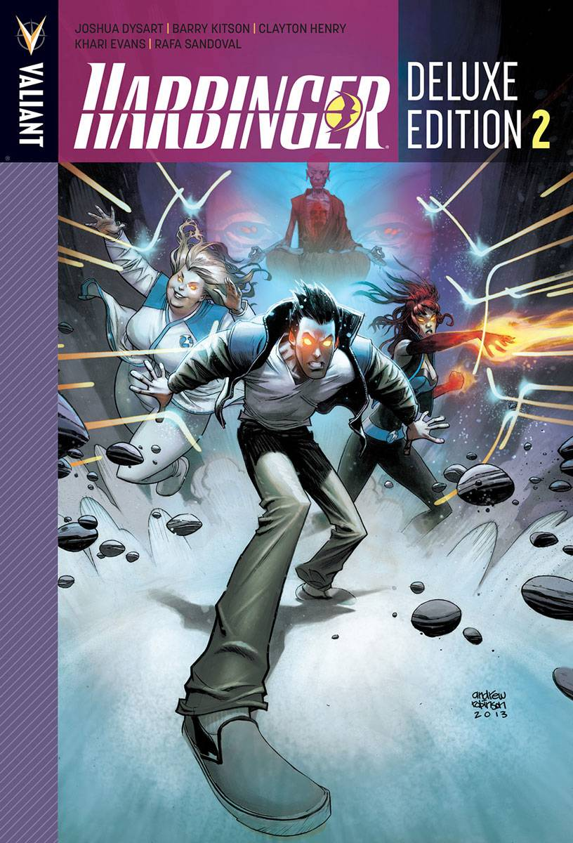 HARBINGER DLX HC VOL 02