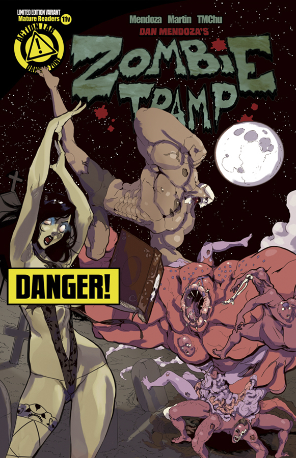 ZOMBIE TRAMP ONGOING #11 RISQUE VAR (MR)