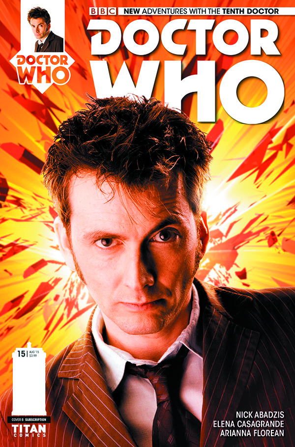 DOCTOR WHO 10TH #15 SUBSCRIPTION PHOTO