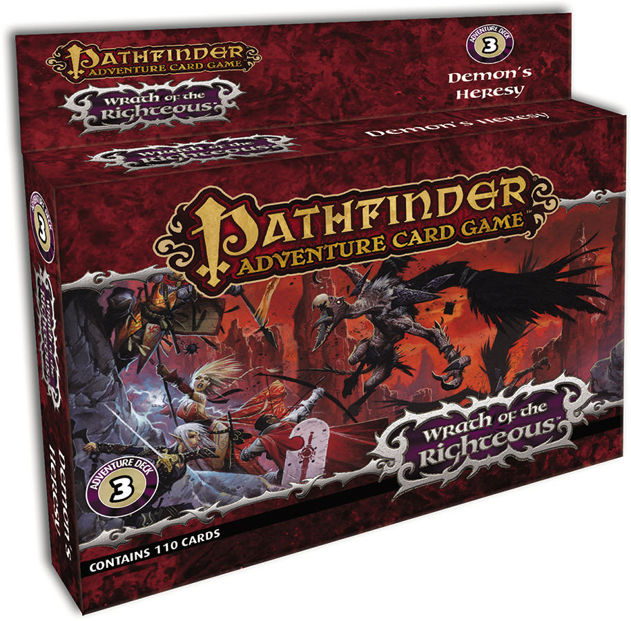PATHFINDER ACG WRATH RIGHTEOUS ADV DECK 3
