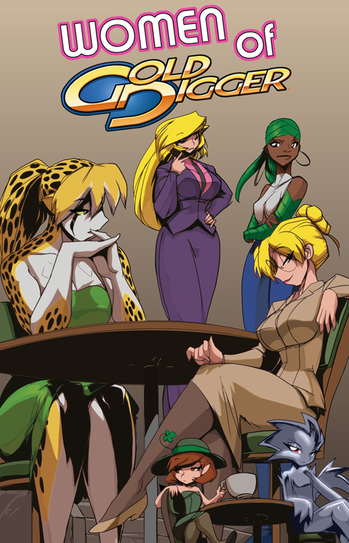 WOMEN OF GOLD DIGGER TP VOL 01