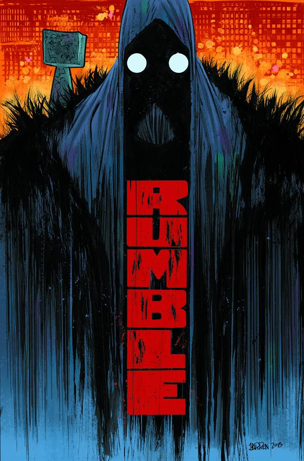 RUMBLE TP VOL 01 WHAT COLOR OF DARKNESS (APR150618) (MR)