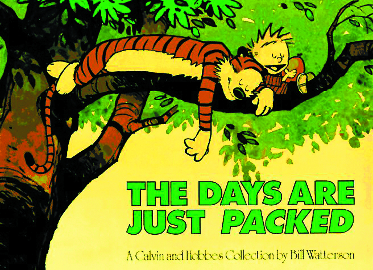 CALVIN & HOBBES DAYS ARE JUST PACKED SC NEW PTG