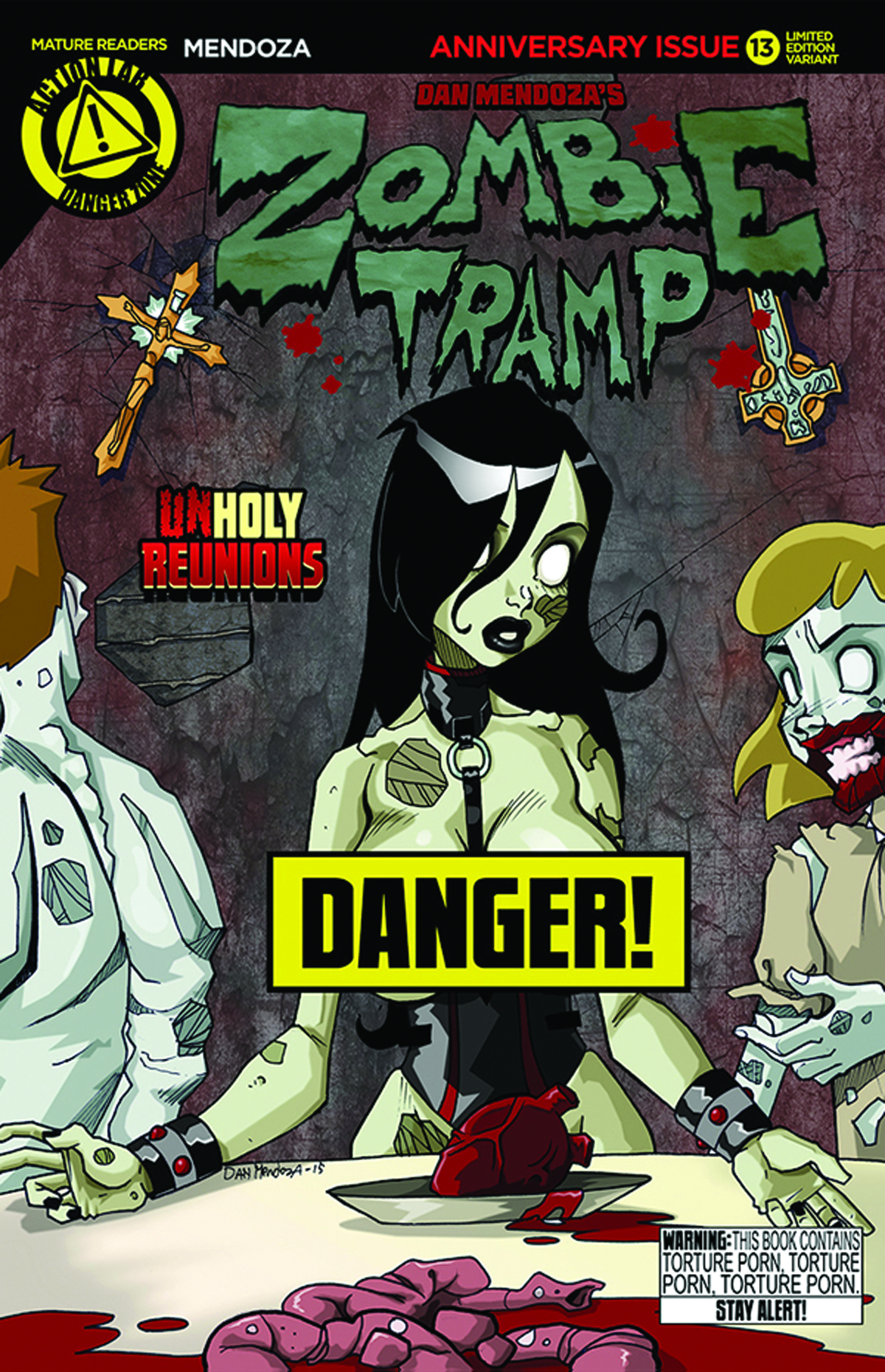 ZOMBIE TRAMP ONGOING #13 RISQUE VAR (MR)