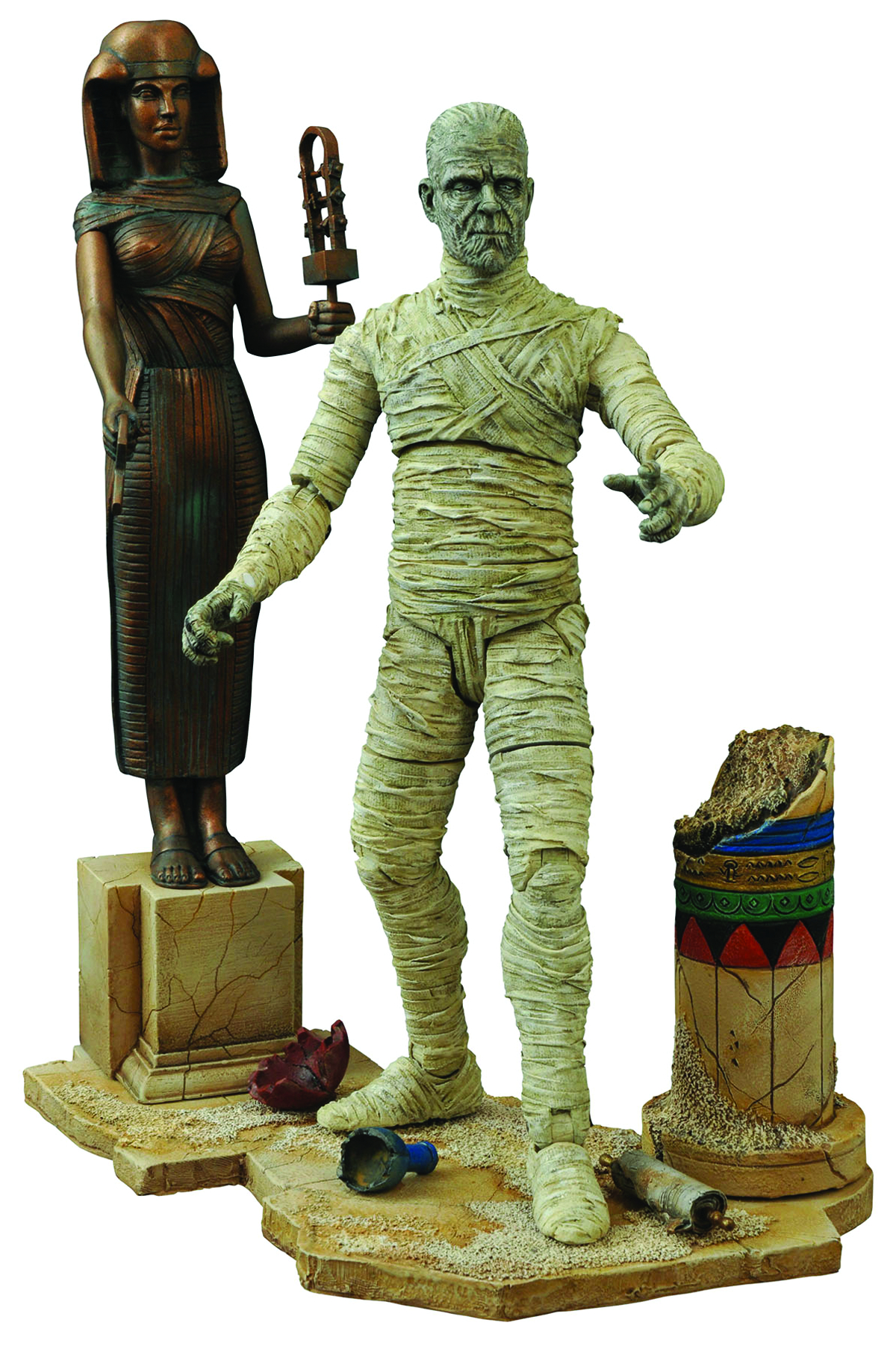 UNIVERSAL MONSTERS SELECT MUMMY VER 2 AF