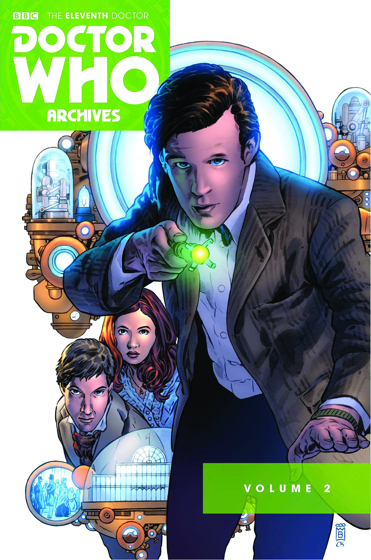 (USE APR188687) DOCTOR WHO 11TH ARCHIVES OMNIBUS TP VOL 02 (