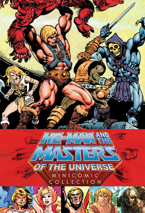 (USE SEP208039) HE-MAN & MASTERS OF UNIVERSE HC MINICOMIC CO