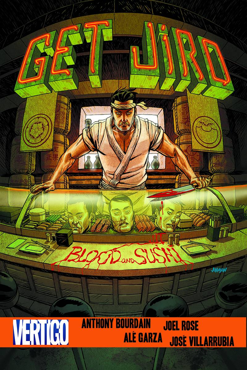 GET JIRO BLOOD AND SUSHI HC (MR)