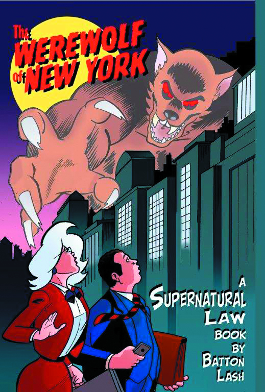 SUPERNATURAL LAW GN WEREWOLF OF NEW YORK