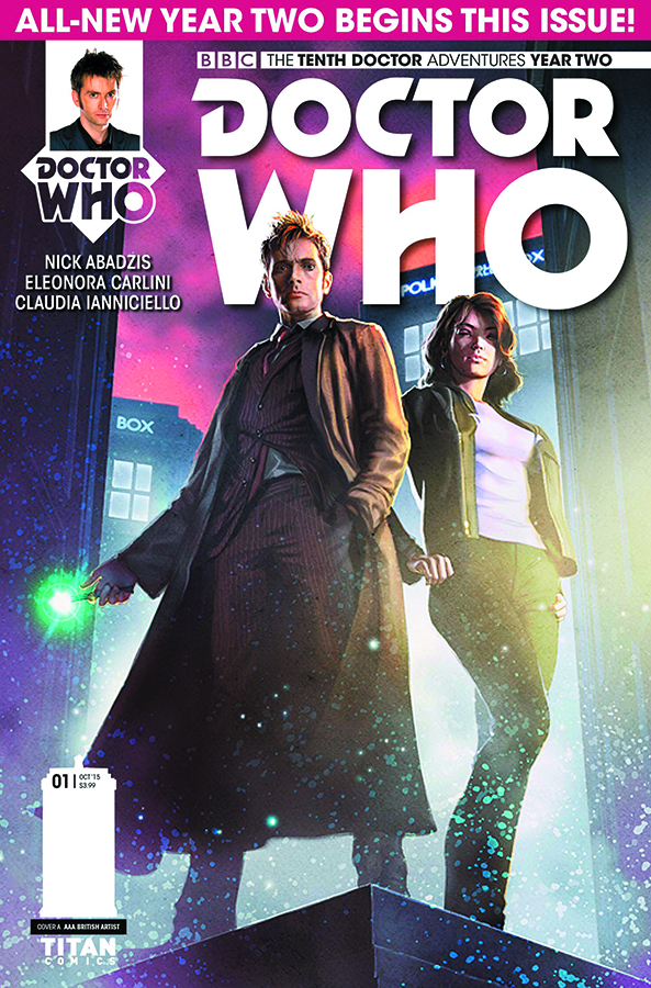 DOCTOR WHO 10TH YEAR TWO #1 REG RONALD