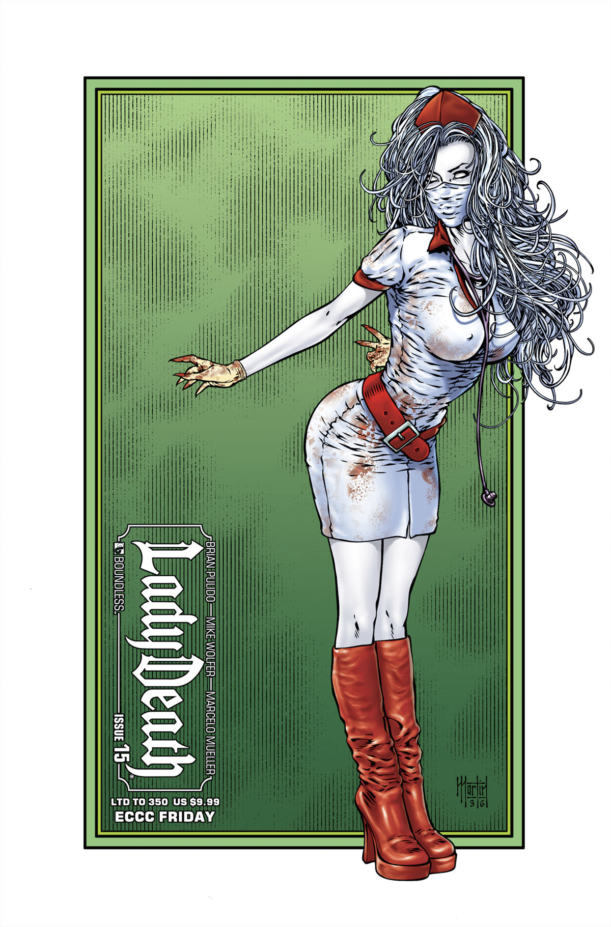 LADY DEATH (ONGOING) #15 EMERALD CITY SET (MR)