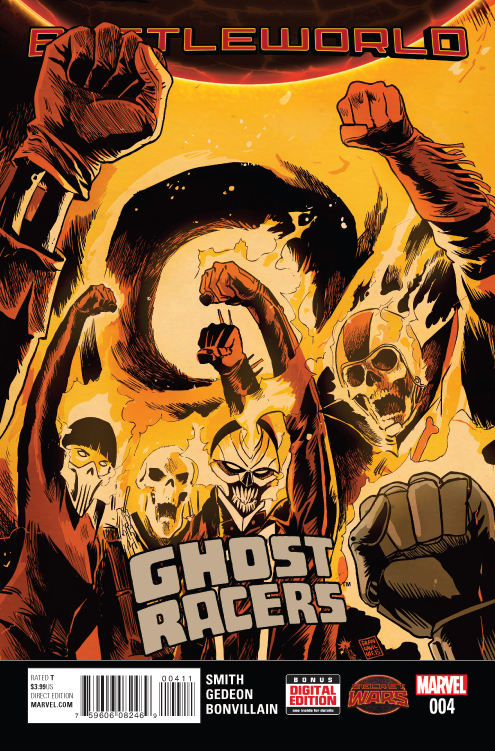 GHOST RACERS #4 SWA