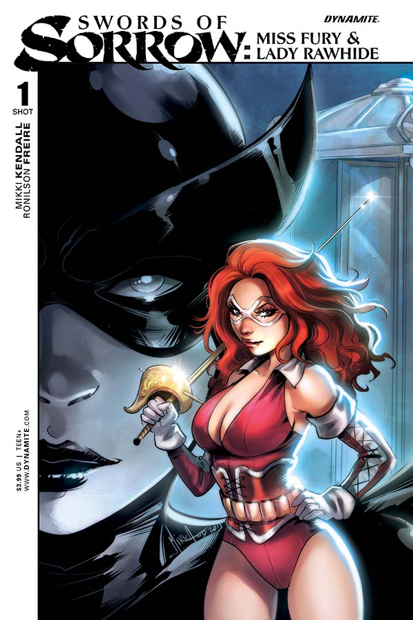 SWORDS OF SORROW MISS FURY LADY RAWHIDE SPEC