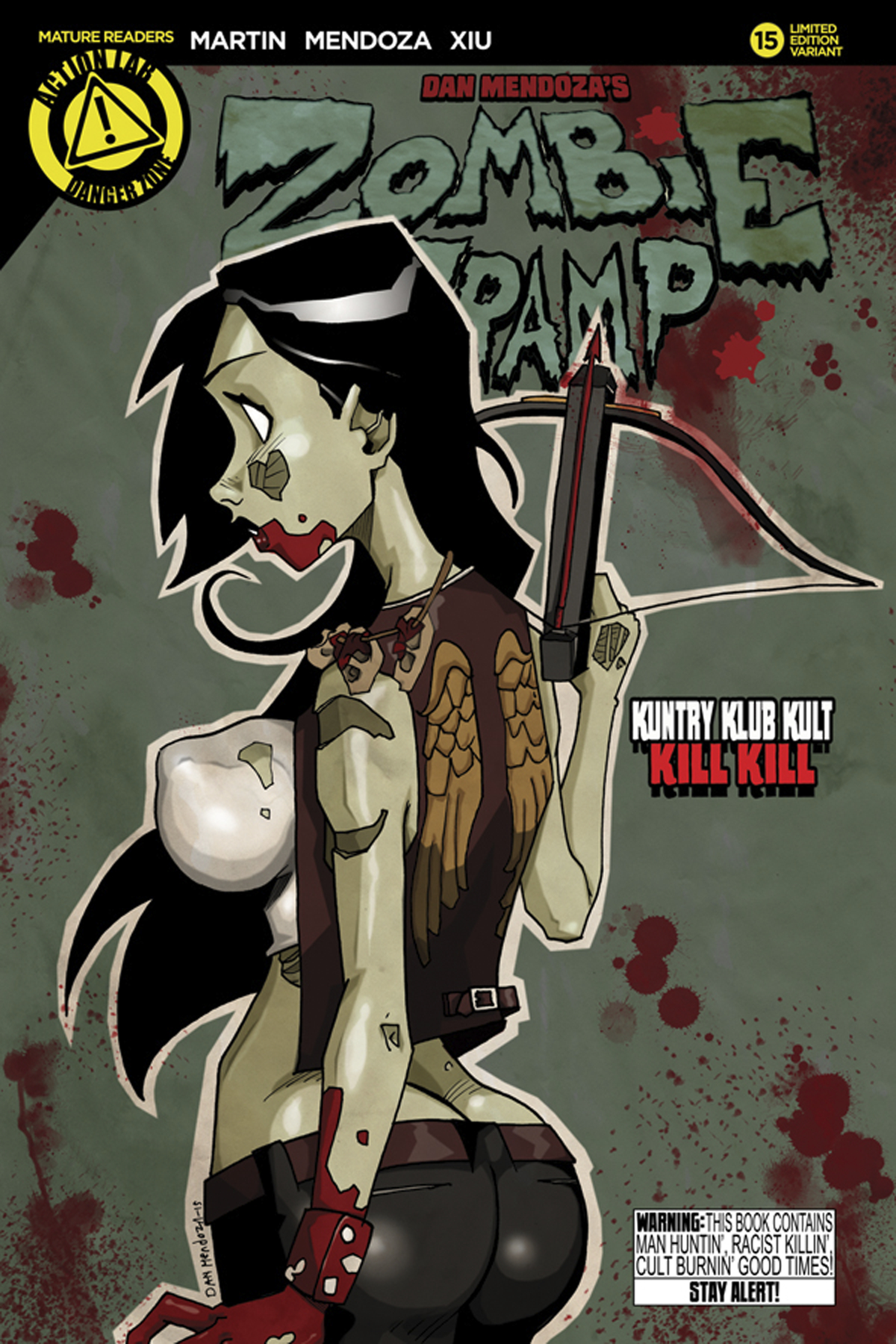 ZOMBIE TRAMP ONGOING #15 MENDOZA VAR (MR)