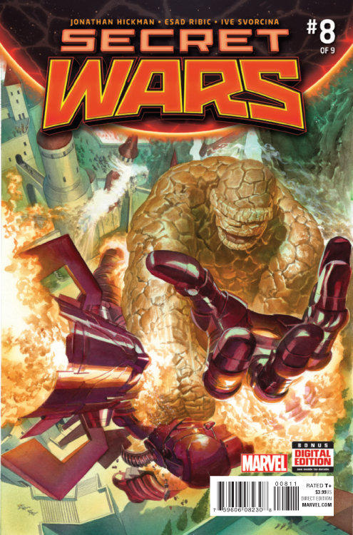 SECRET WARS #8 (OF 9) SWA