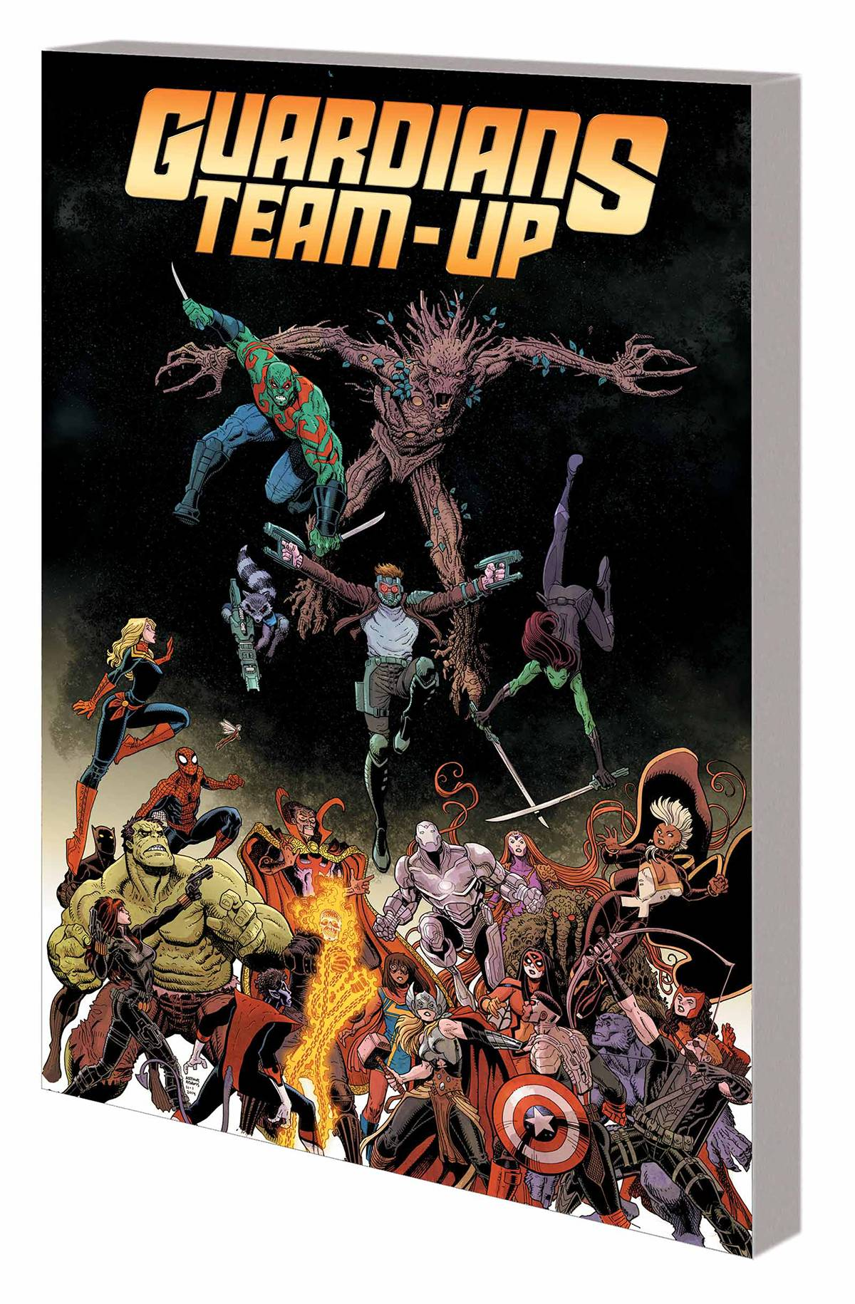 GUARDIANS TEAM-UP TP VOL 01 GUARDIANS ASSEMBLE